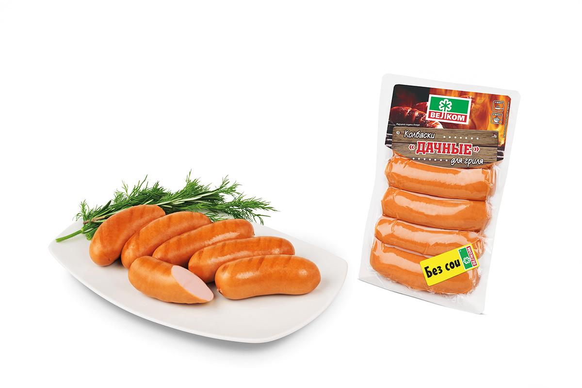 Велком Колбаски Дачные для гриля, 490 г71515Компания Велком предлагает Вашему вниманию колбаски Гриль. Приготовленные из 100% говядины высшего качества с добавлением ароматных специй, колбаски для гриля от Велком придутся по вкусу ценителям более постного мяса и станут отличным дополнением к ассортименту колбасок для гриля от Велком. Колбаски уже готовы, поэтому их остается только обжарить на мангале, чтобы они пропитались ароматом костра.