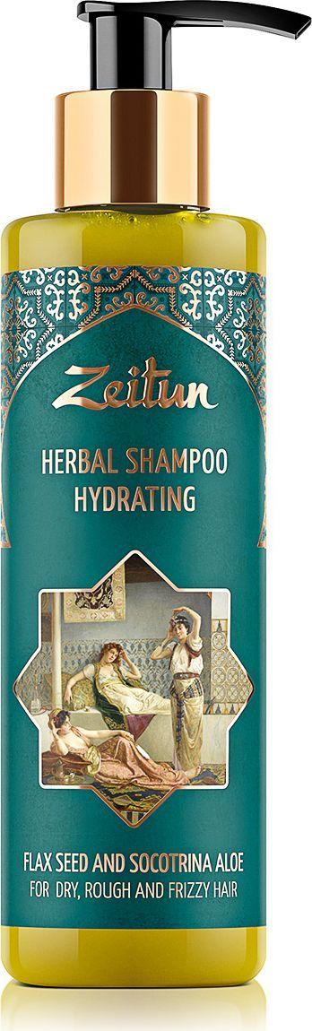 Зейтун Увлажняющий фито-шампунь для сухих, жестких и кудрявых волос, cо льном и сокотрийским алоэ, 200 млZ4333Превратите свои волосы в захватывающую дух, сияющую и полную жизненной силы волну! Натуральный увлажняющий фито-шампунь Зейтун до краев наполнен благотворной влагой, необходимой сухим, обезвоженным, а также вьющимся и кудрявым волосам: он создан полностью на основе живительного отвара, содержит экстраувлажняющий сок алоэ и пептидные гидролизаты для глубокого структурного восстановления. Регулярное увлажнение позволит вам обрести сильные, блестящие, струящиеся локоны без утяжеления и восприимчивости к внешним воздействиям. Для самого действенного и глубокого увлажнения волос и кожи головы необходимы натуральные ингредиенты, которые содержат легко проникающую в клетки и структуру волоса влагу. Поэтому фито-шампунь содержит максимум увлажняющих компонентов с легко усваиваемым микроэлементным составом:- Сок алоэ сокотринского – самая благодатная, легко усваиваемая волосами влага и мощный антиоксидант. Он укрепляет и оздоравливает фолликулы, налаживает работу сальных желез, делает каждый волосок эластичным и наделяет локоны высокой отражающей способностью.- Отвар лепестков роз и семян льна насыщает витаминами и растительными кислотами, разглаживает и выравнивает поверхность каждого волоса, обеспечивает сохранение формы прически при высокой влажности.- Гидролизат белка пшеницы и гидролизат растительного кератина восполняют недостаток естественной выработки белков, восстанавливают иссушенные участки волос, возвращая каждому волоску плотность и однородность.Фито-шампунь Зейтун не содержит SLS, SLES, парабеновых консервантов и минеральных масел. Он великолепно мылится и очищает благодаря экологичному ПАВ, добываемому из мякоти кокоса, а натуральный комплекс из мыльных орехов, сапонарии и акации обеспечивает волосам мягкое очищение, свежесть и длительное увлажнение.