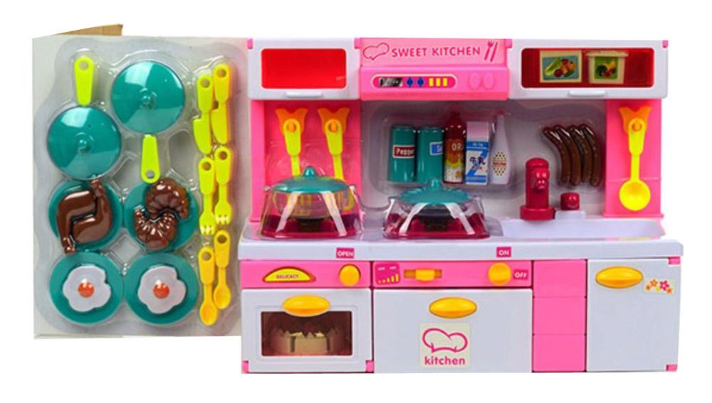 DollyToy Мебель для кукол Суперкухня аксессуары для кукол большой слон мебель для больших кукол до 30 см детская м 007