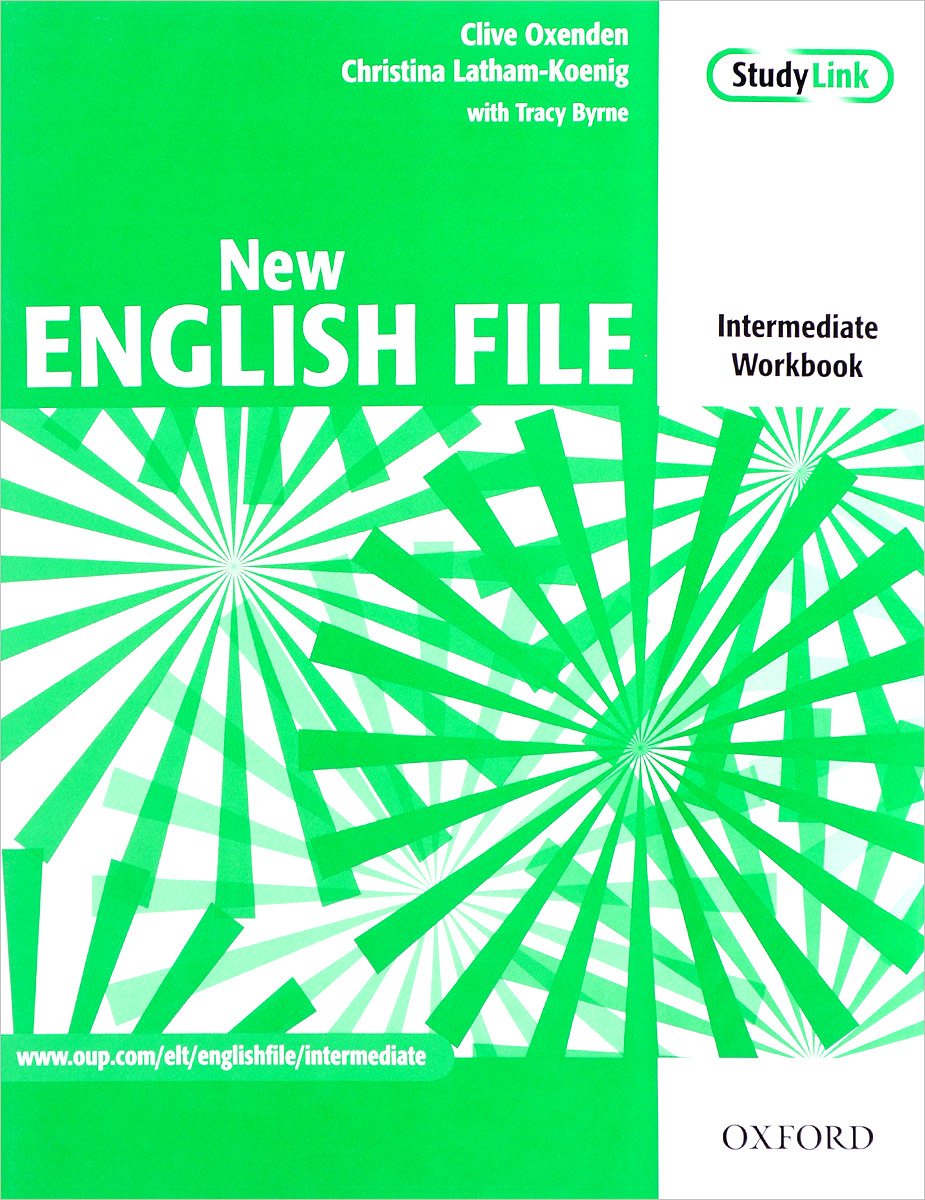 New English File: Intermediate: Workbook new total english intermediate workbook with key cd