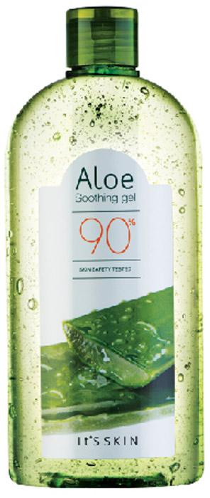 Its Skin ОсвежающийгельAloe 90%,320 мл6020000485Успокаивающий гель создан на основе алоэ вера(90%), кроме того, содержит экстракты зеленого чая, арбуза и манго. Увлажняет и успокаивает кожу, освежает ее и охлаждает, способствует сужению пор и контролю жирности кожи.