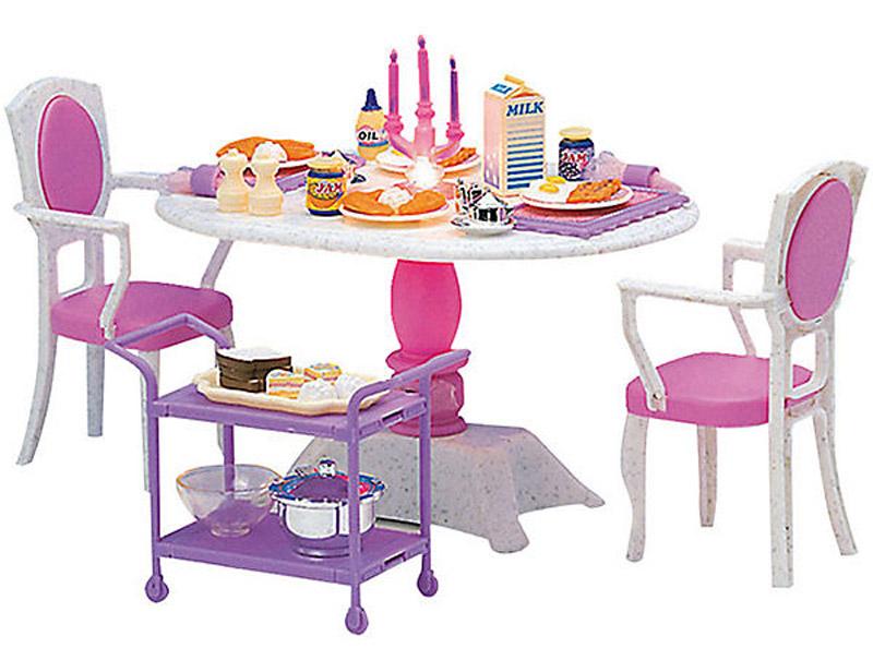 DollyToy Мебель для кукол Ужин в ресторане dollytoy мебель для кукол книжный шкаф