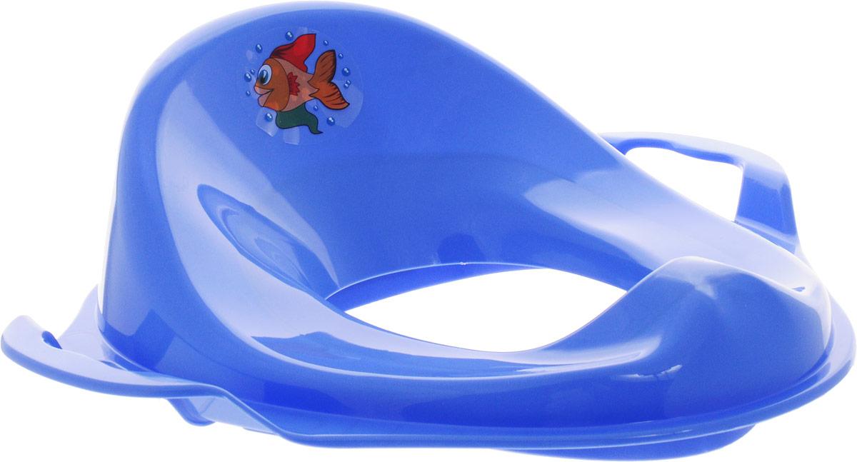 Disney Накладка на унитаз детская цвет голубой