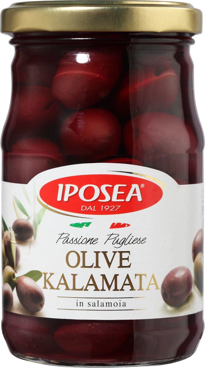 Iposea оливки Каламата, 280 г gaea оливки каламата 300 г