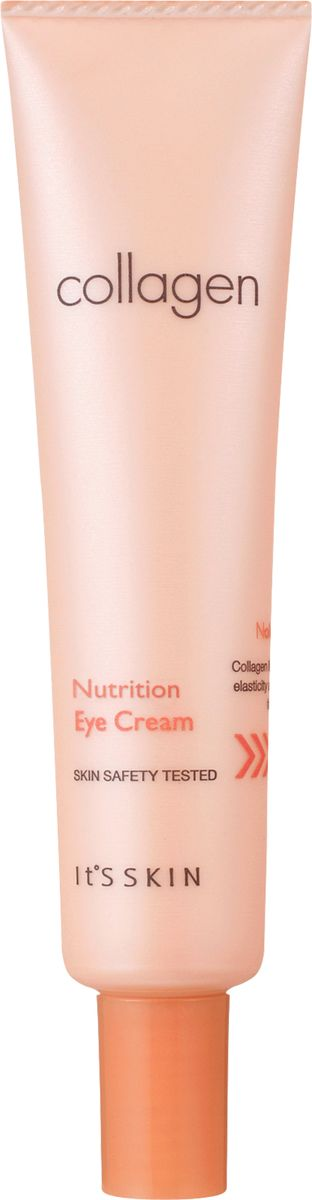 Its Skin ПитательныйкремдляглазCollagen,25 мл6018001719Крем для области вокруг глаз содержит коллаген, экстракт адониса, брусники и солодки. Линия обогащенная активным витаминным комплексом, быстро впитывается кожей, активизируя процесс обновления клеток. Повышает эластичность и упругость кожи, смягчает и увлажняет ее. Способствует сокращению выраженности морщин и уменьшает отечность.