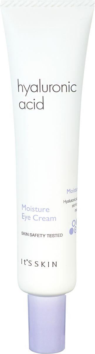 Its Skin Увлажняющийкремдляглазсгиалуроновойкислотой,25 мл6018001865Крем для глаз содержит гиалуроновую кислоту, экстракт портулака, гибискуса, черники и ацеролы. Быстро повышает уровень увлажнения кожи, симулирует синтез коллагена. Разглаживает морщины, уменьшает отечность и осветляет темные круги.