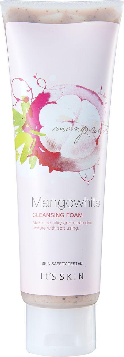 Its Skin ОчищающаякремоваяпенкаMangoWhite,150 мл6018001224Пенка для очищения кожи с экстрактом манго, абрикоса и зеленого чая. Мягко удаляет загрязнения, предотвращает раннее увядание кожи, увлажняет и выравнивает тон кожи.