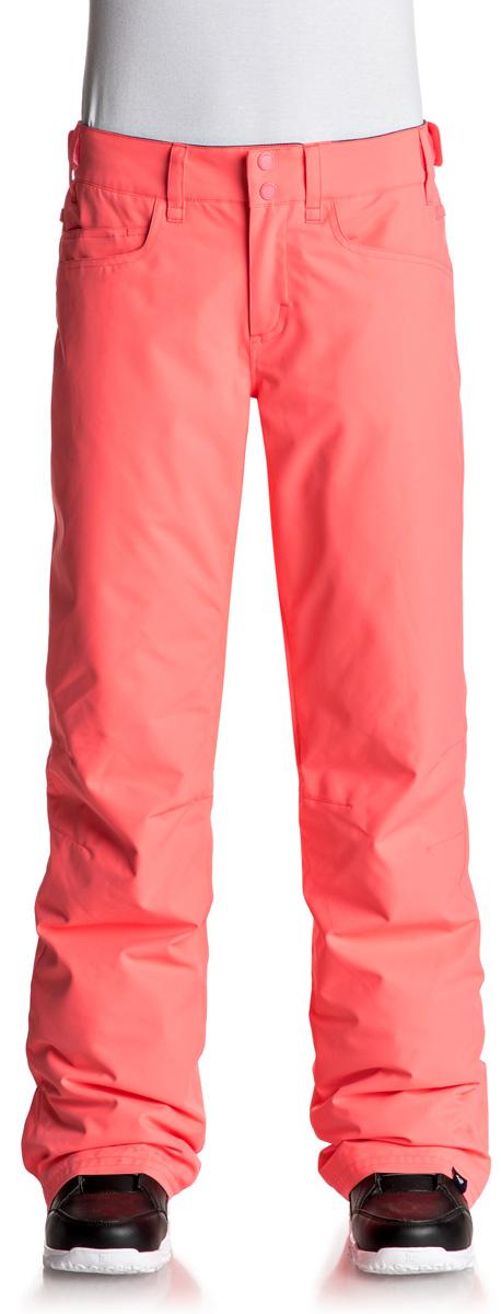 Брюки утепленные женские Roxy Backyard, цвет: розовый. ERJTP03045-NKN0. Размер XS (40)ERJTP03045-NKN0Брюки Roxy Backyard выполнены из плотного материала с водоотталкивающей непродуваемой мембраной 10K DryFlight, утеплитель Warmflight (60 г). Все основные швы проклеены. Система пристегивания: куртку и штаны можно пристегнуть друг к другу. Пояс дополнен регулировкой размера. Вентиляция: прорези в штанинах на сеточной подкладке. Края штанин можно присобирать и подтягивать повыше за счет специального троса, низ штанин со вставкой на кнопке, удобные гейтеры из тафты.