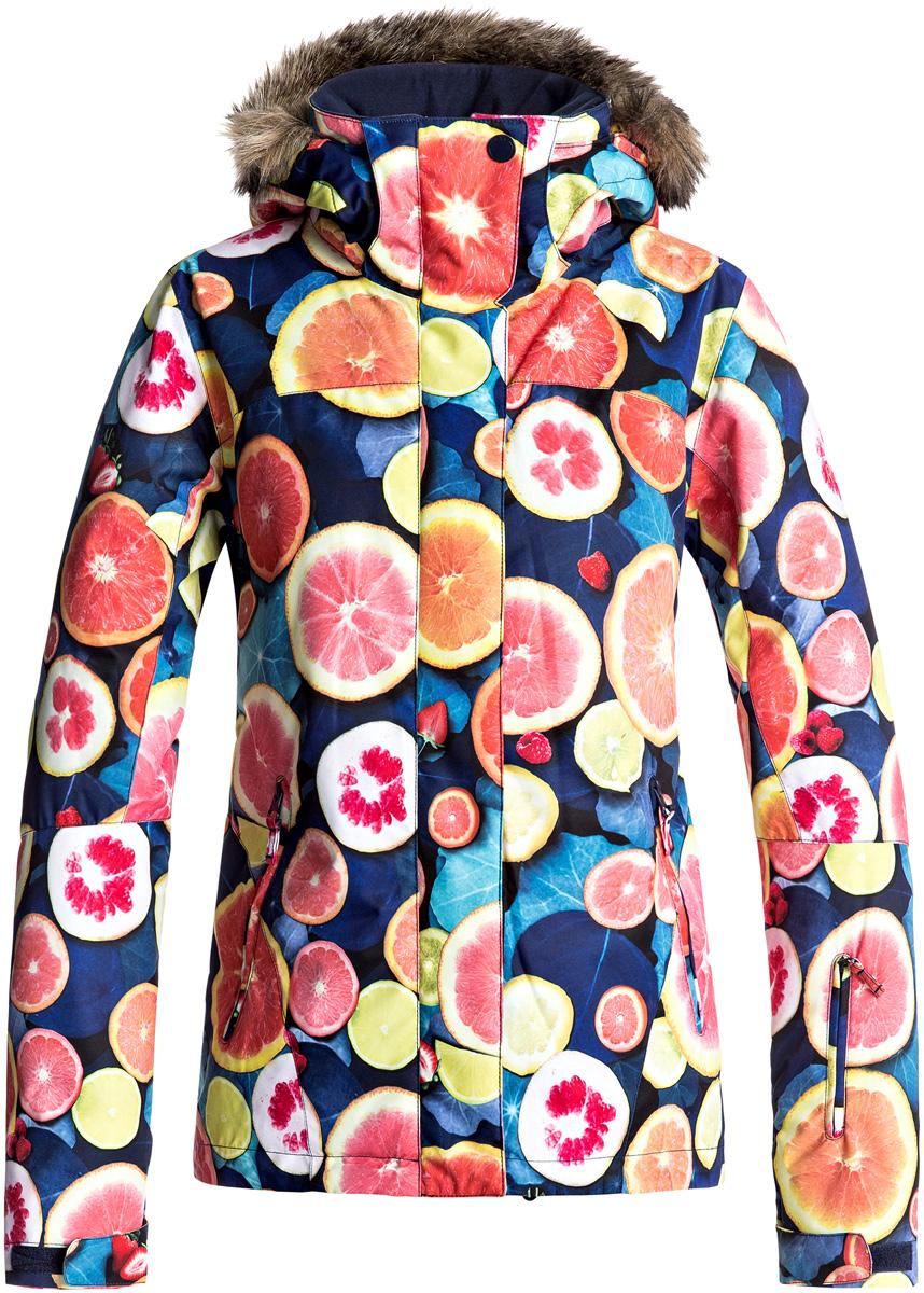 Куртка женская Roxy, цвет: черный. ERJTJ03124-YFK6. Размер S (42)ERJTJ03124-YFK6