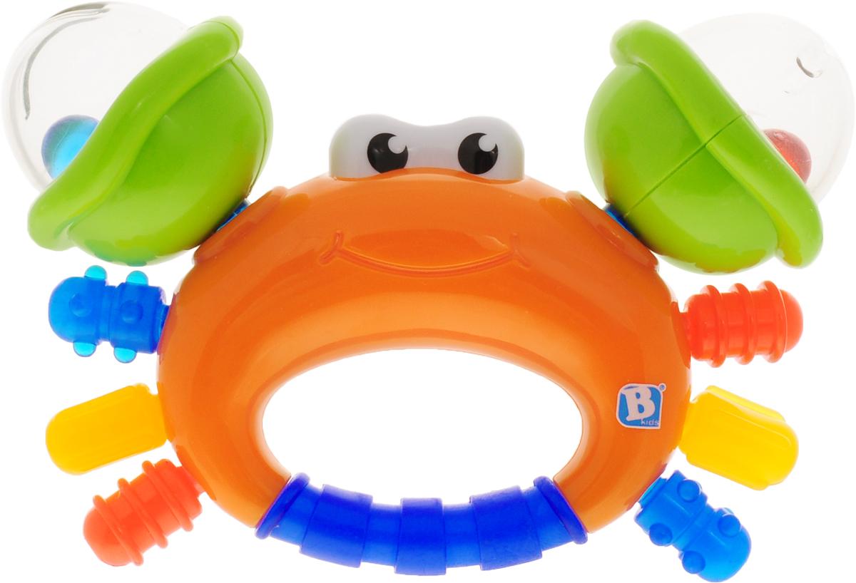 Bkids Прорезыватель Песчаный краб игрушка юла с шариками bkids