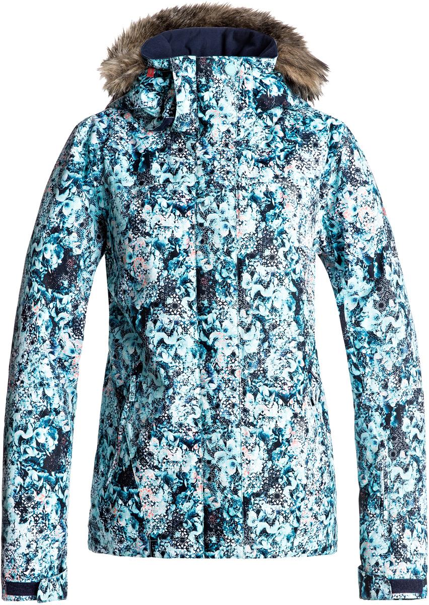 где купить Куртка женская Roxy Jet Ski, цвет: синий. ERJTJ03124-BFK9. Размер XS (40) по лучшей цене