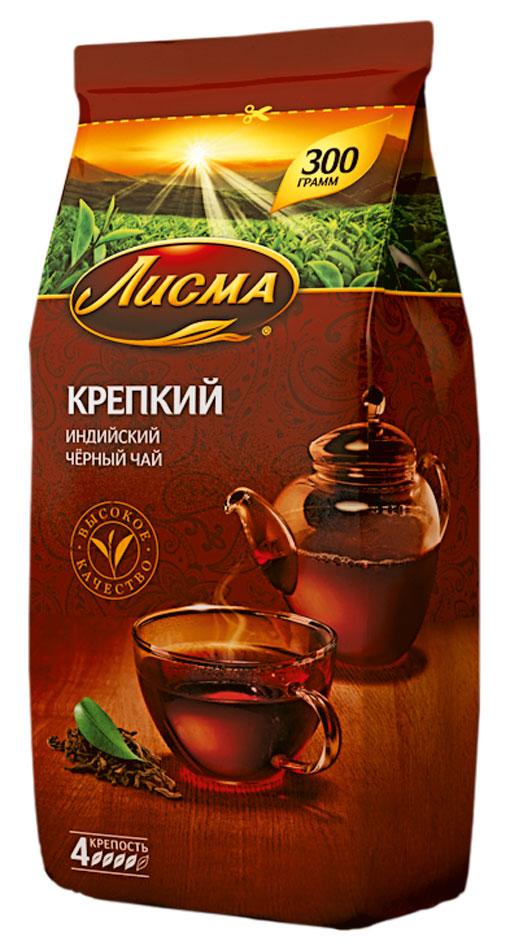 Лисма Крепкий черный листовой чай, 300 г (мягкая упаковка)201932Лисма Крепкий - индийский черный байховый чай. Ощутите крепость легендарного чайного листа!Уважаемые клиенты! Обращаем ваше внимание на то, что упаковка может иметь несколько видов дизайна. Поставка осуществляется в зависимости от наличия на складе.