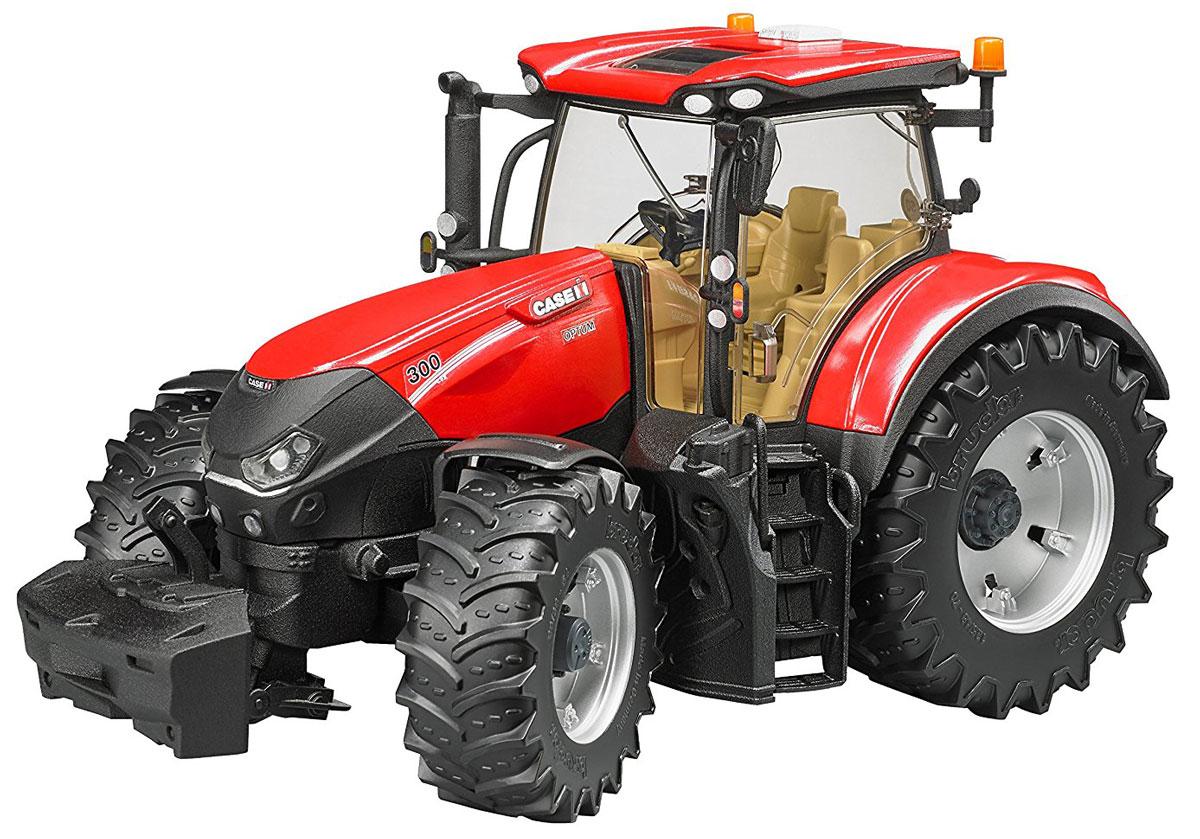 Bruder Трактор Case IH Optum 300 CVX машины bruder трактор case ih optum 300 cvx с прицепом krampe tandem halfpipe 03 199
