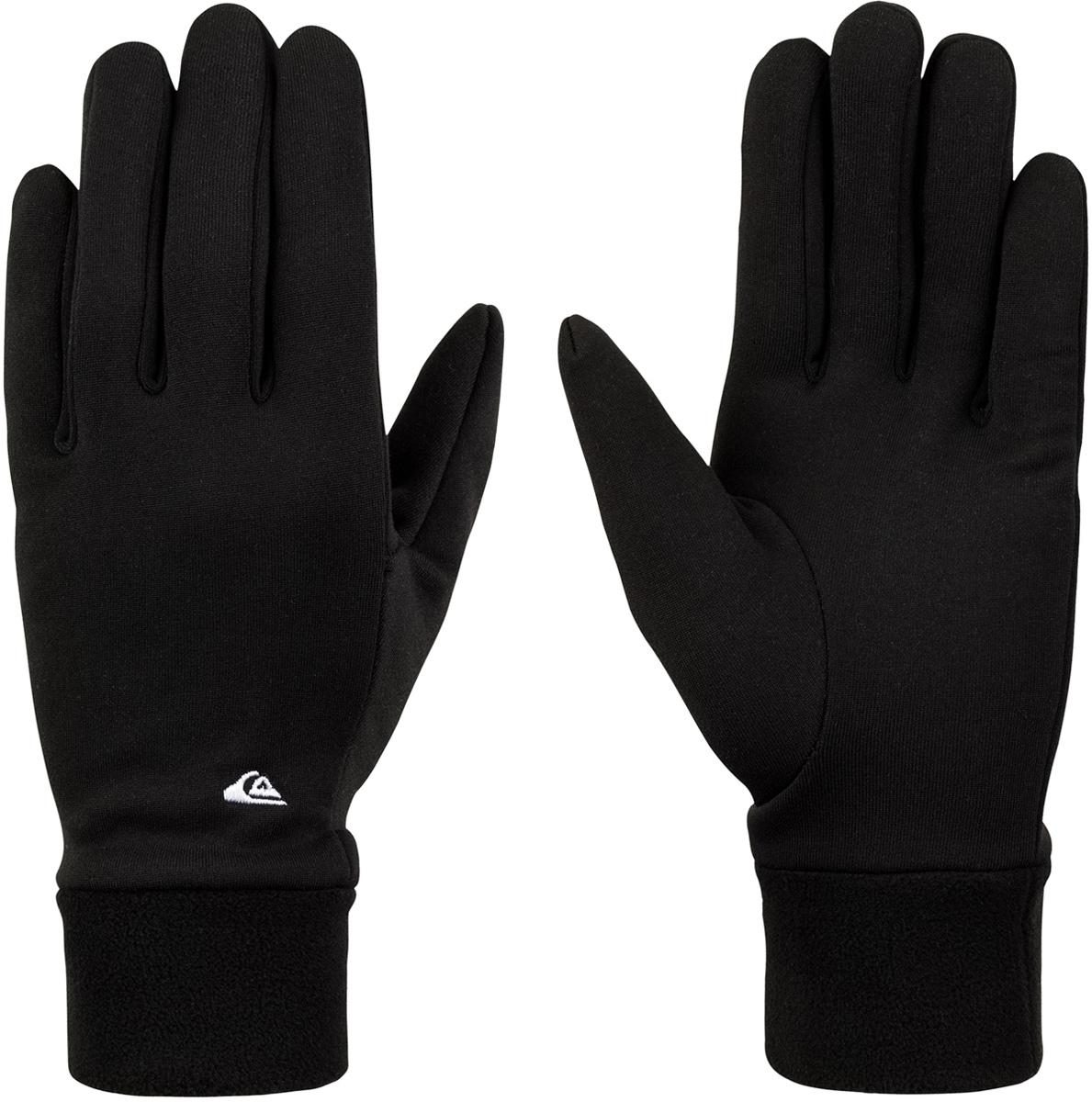 Перчатки мужские Quiksilver, цвет: черный. EQYHN03102-KVJ0. Размер M (8)EQYHN03102-KVJ0Мужские перчатки Quiksilver выполнены из полиэстера. Перчатки станут великолепным дополнением вашего образа и защитят ваши руки от холода и ветра во время занятий спортом.