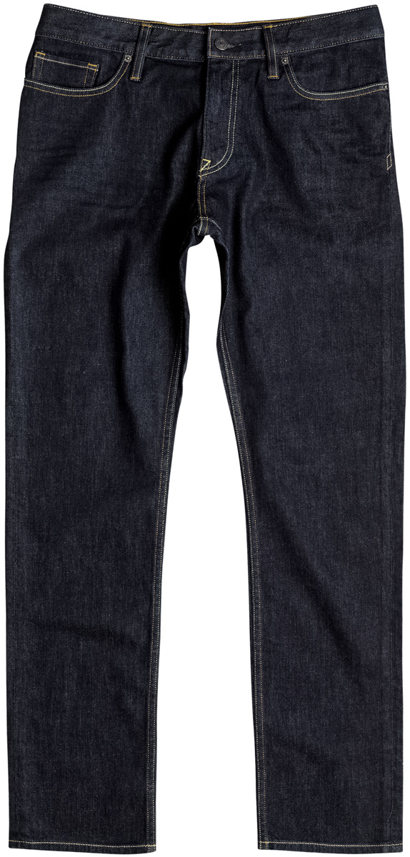 Брюки мужские DC Shoes, цвет: темно-синий, индиго. EDYDP03324-BTKW. Размер 33 (48)EDYDP03324-BTKW