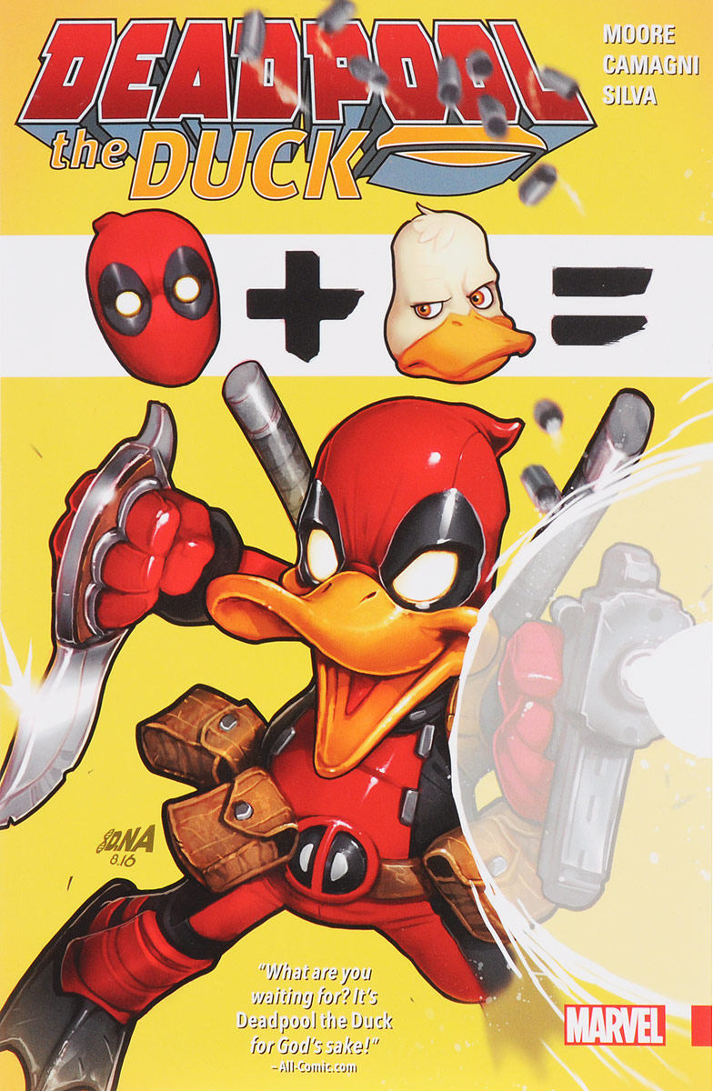 Deadpool the Duck the universe in a nutshell