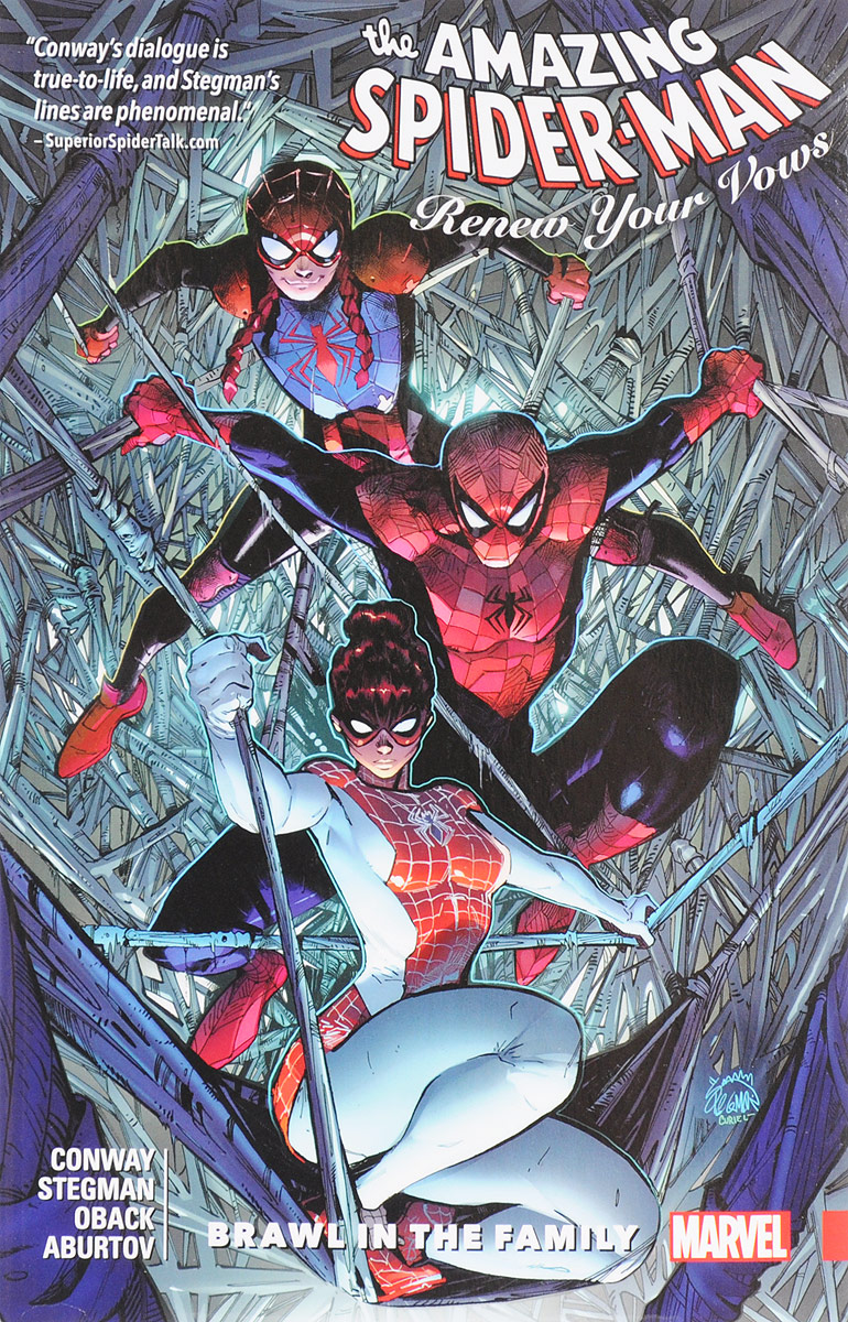 цены Amazing Spider-Man: Renew Your Vows: Volume 1: Brawl in the Family