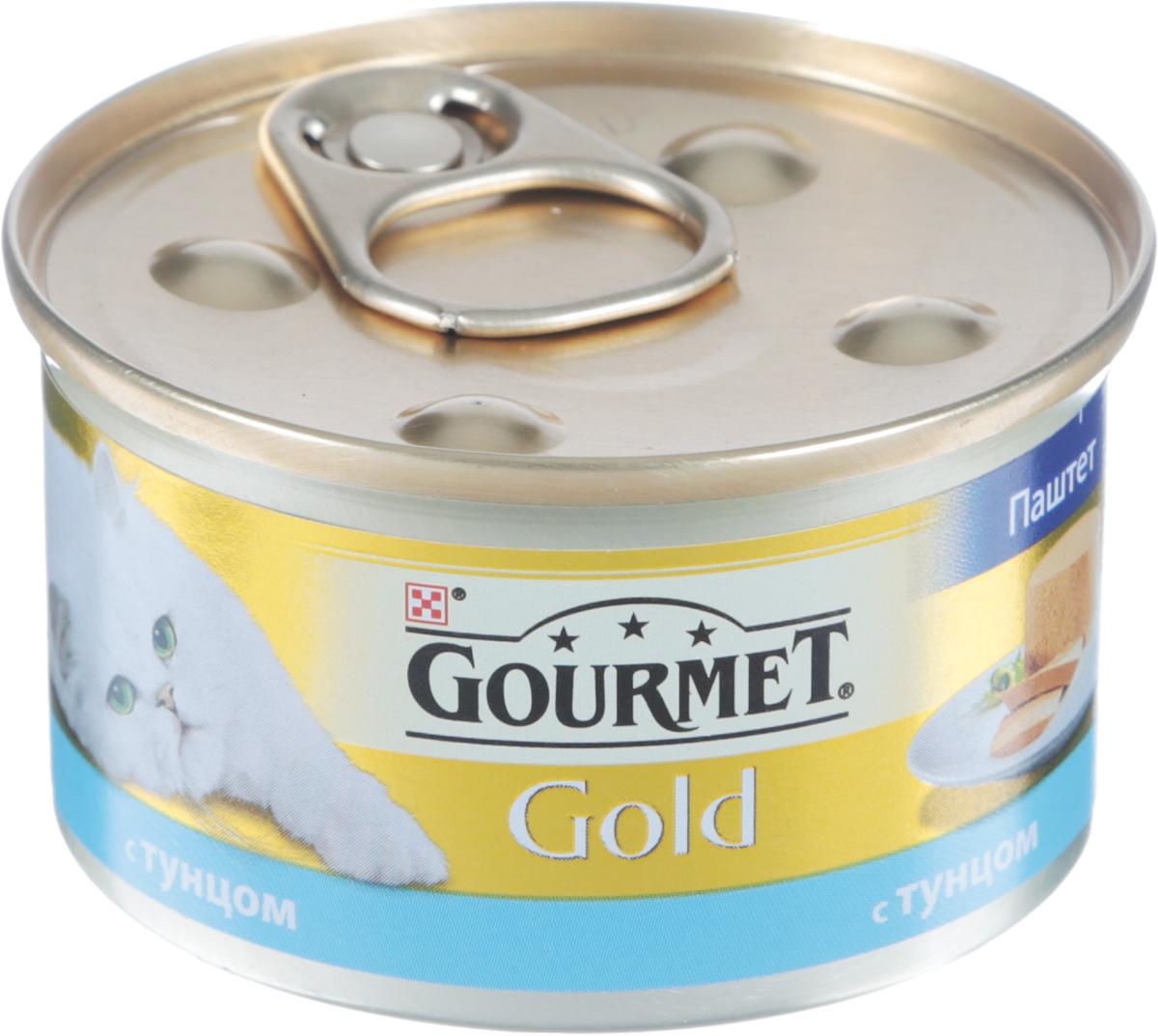 Консервы Gourmet Gold для кошек, паштет с тунцом, 85 г овощерезка salad gourmet bradex