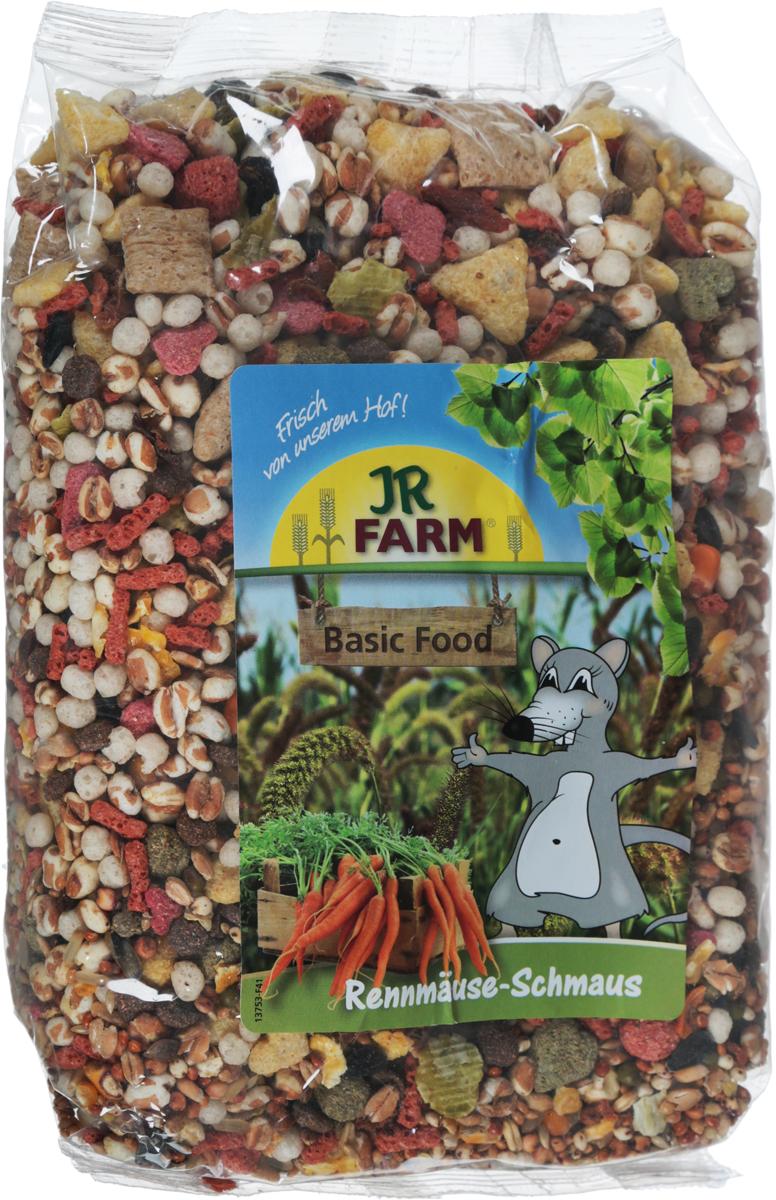 Корм для песчанок JR Farm Classic Feast, 600 г игровые наборы tomy britains big farm фермерский прицеп со свинками