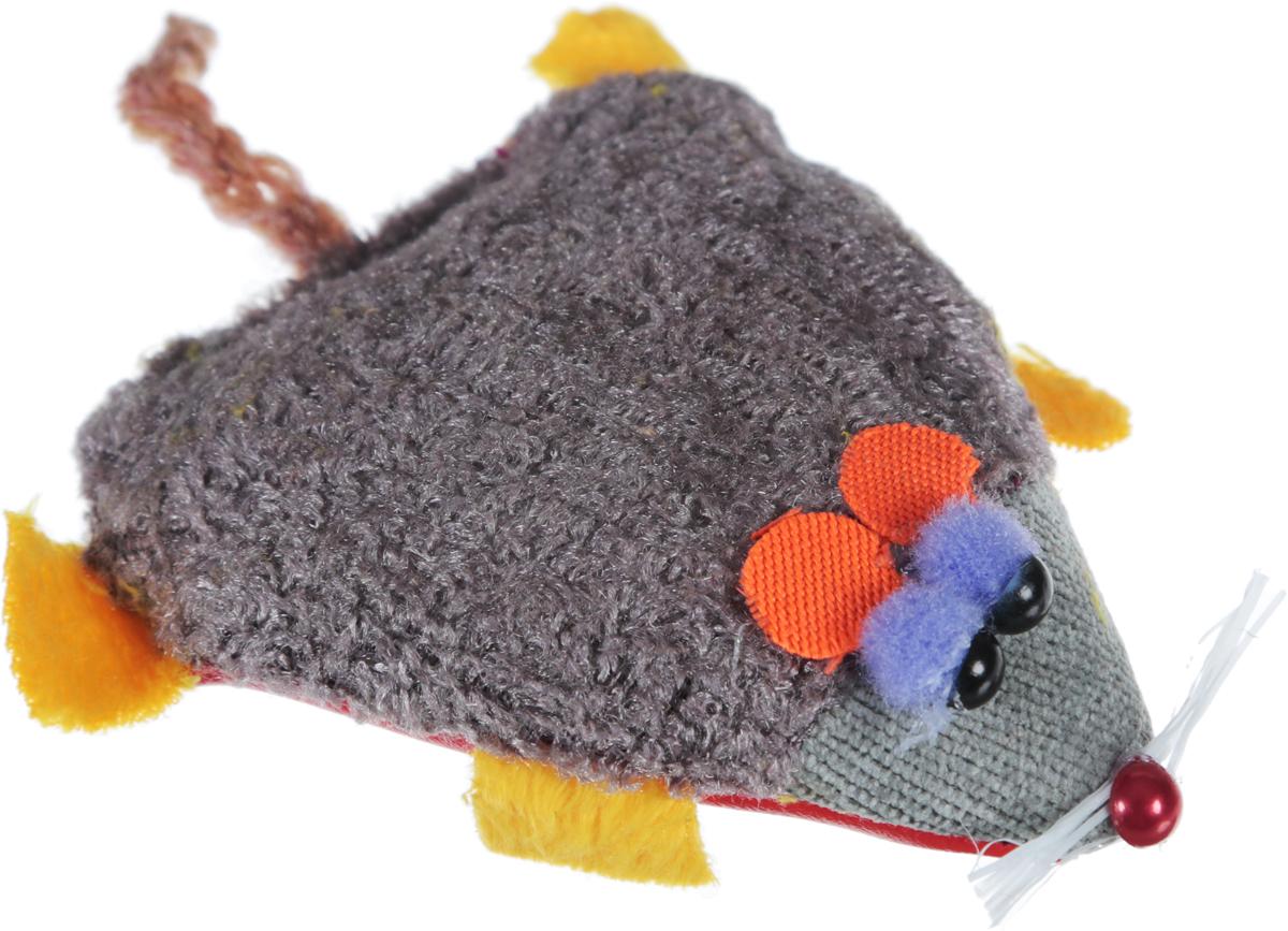 Игрушка для кошек GLG Мышка-норушка, цвет красный, капучино, 7 х 14 х 2,5 смGLG039_капучино, красныйИгрушка для кошек GLG Мышка-норушка, выполненная из текстиля с мягким наполнителем внутри, не позволит заскучать вашему пушистому питомцу. Играя с этой забавной игрушкой, маленькие котята развиваются физически, а взрослые кошки и коты поддерживают свой мышечный тонус. Игрушка оснащена черными глазками-бусинками и длинным хвостом.Такая игрушка порадует вашего любимца, а вам доставит массу приятных эмоций, ведь наблюдать за игрой всегда интересно и приятно. Размер игрушки (с учетом хвоста): 7 х 14 х 2,5 см.Уважаемые клиенты! Обращаем ваше внимание на то, что цвет глаз игрушки может отличаться от представленного на изображении. Поставка осуществляется в зависимости от наличия на складе.