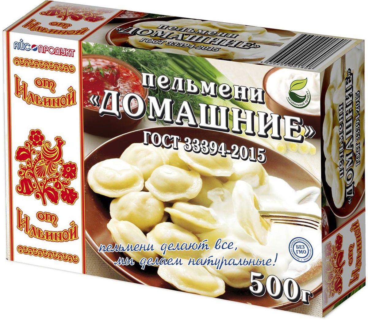 От Ильиной Пельмени Домашние ГОСТ, 500 г домашние вареники пельмени лапша лазанья галушки и другие вкусности