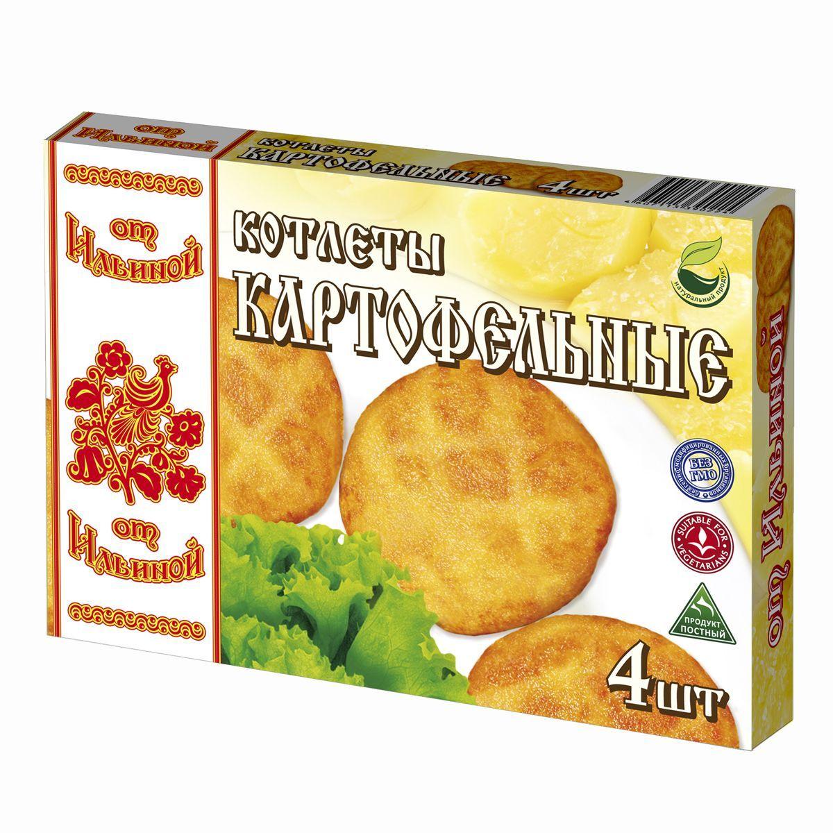 От Ильиной Котлеты картофельные, 300 г