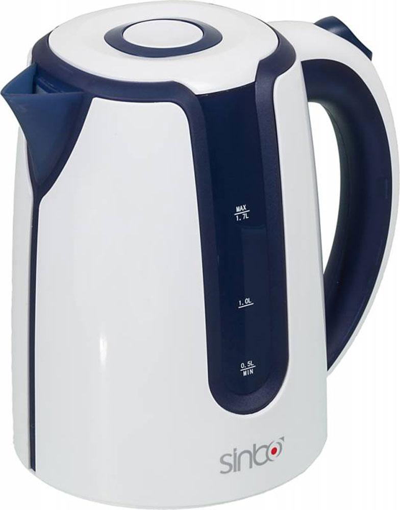 Sinbo SK 7323 чайник электрическийSK 7323Sinbo SK 7323 - это мощная (2200 Вт) модель большого объема (1,7 л) в стильном пластиковом корпусе.С помощью этого чайника вы сможете приготовить чай на большую компанию за считанные минуты. Вращающийся корпус сделает использование чайника еще более удобным, а фильтр избавит от попадания накипи в чашку.