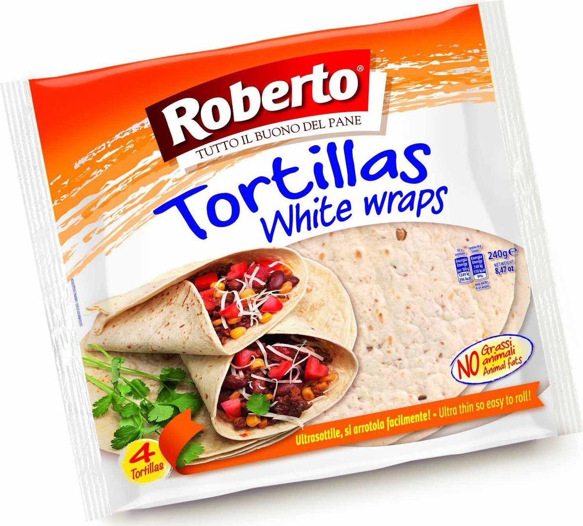 """Тортильи """"Roberto"""" идеальны для добавления в гуляши, соусы, их можно есть просто так или с маслом, фасолью и мясом, с чили или соусами, почти с любой не слишком жидкой начинкой."""