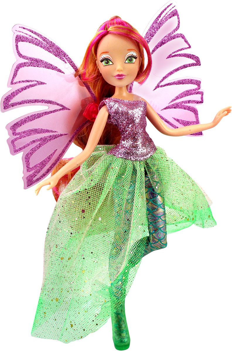 Winx Кукла Чудесная Сиреникс Флора куклы winx кукла winx club чудесная сиреникс флора