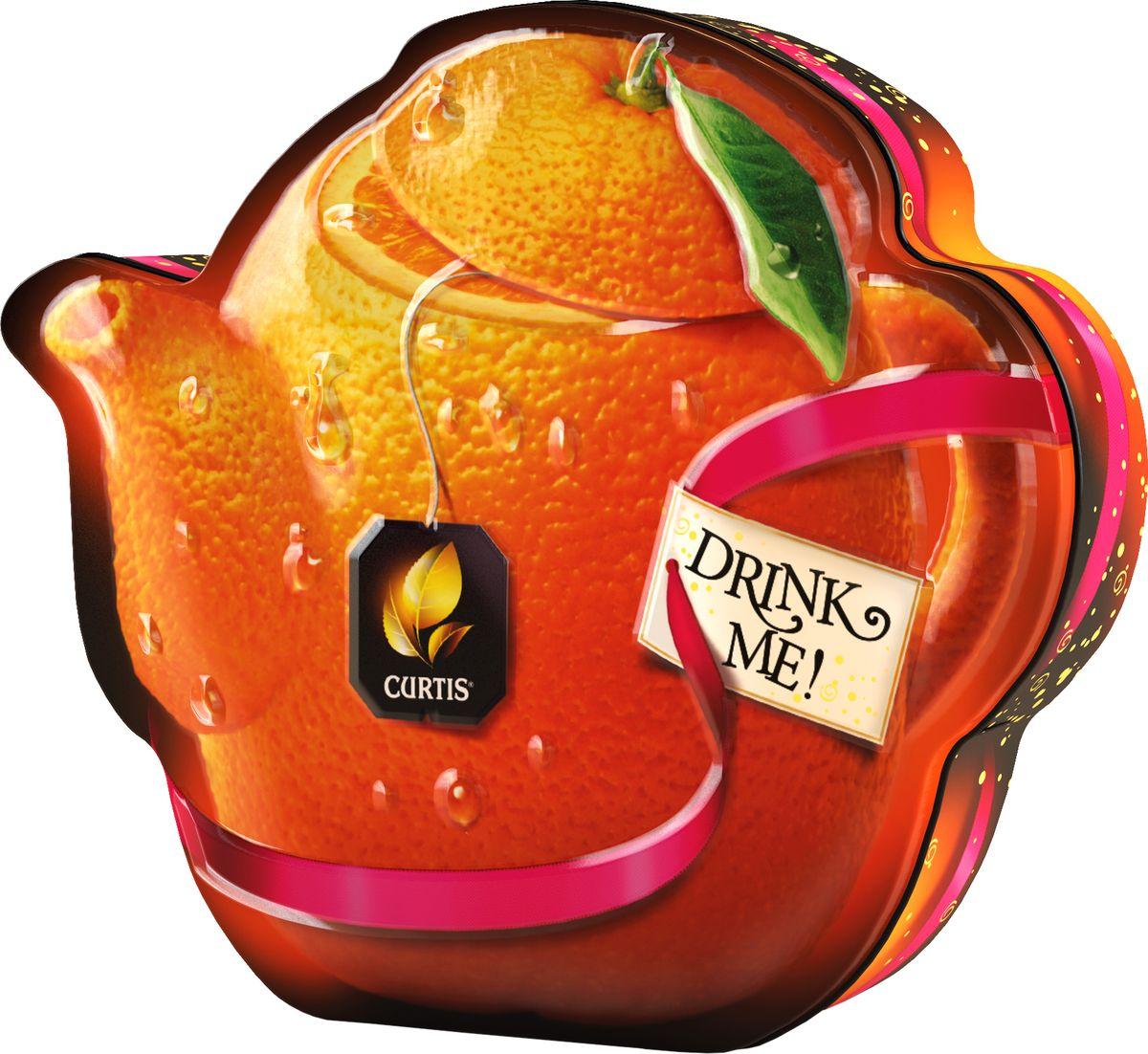 Curtis Drink Me Orange Chocolate Teapot черный листовой арома-чай, 55 г100330Новая уникальная форма банки - яркая оригинальная, выделяется и привлекает внимание. Восхитительный цейлонский чай с дуэтом ярких вкусов – темного шоколада и сладкого сочного апельсина - Мир удивительный вкусов чая.Всё о чае: сорта, факты, советы по выбору и употреблению. Статья OZON Гид