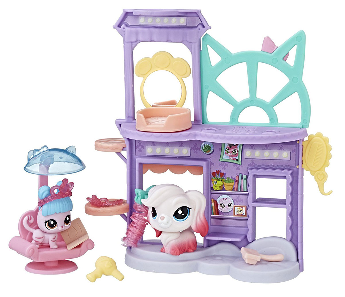 Littlest Pet Shop Игровой набор Shake 'N Dry Salon рюкзаки littlest pet shop рюкзак littlest pet shop
