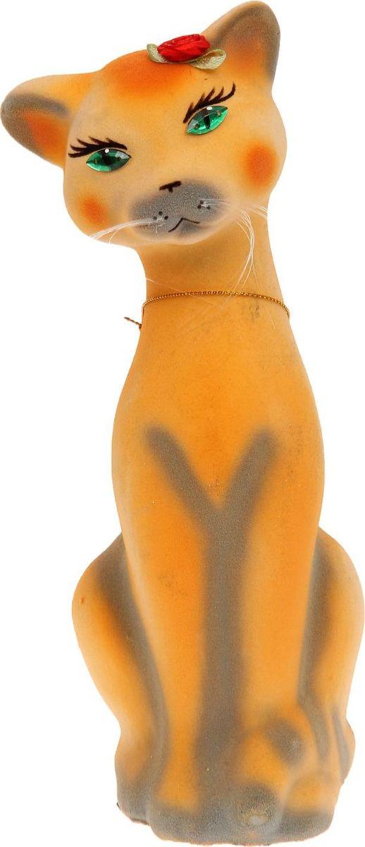 Копилка Керамика ручной работы Кошка Аннет, 10 х 6 х 24 см1133326Женщины любят баловать себя покупками для красоты и здоровья. С помощью такой копилки можно незаметно приблизиться к приобретению желаемого. Образ кошки всегда олицетворял привлекательность и символизировал домашнее спокойствие. Поставьте изделие возле предметов роскоши, и оно будет способствовать их преумножению. Обращаем ваше внимание, что копилка является одноразовой.
