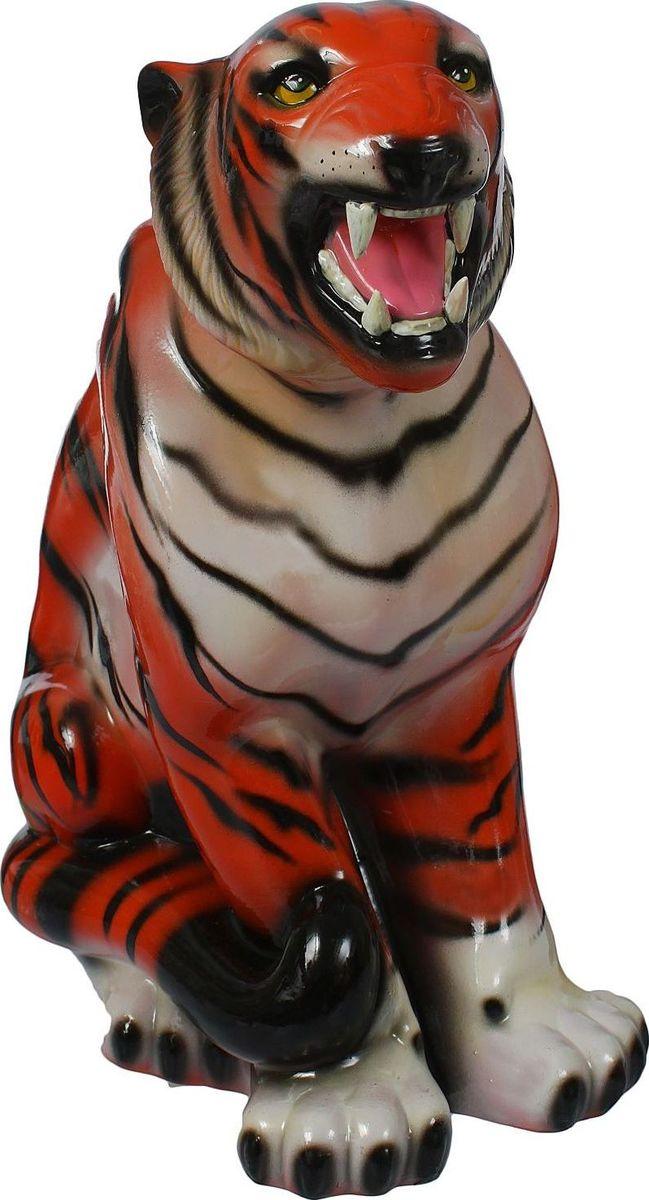 Копилка Керамика ручной работы Тигр, 34 х 20 х 50 см1364114Копилка — универсальный вариант подарка любому человеку, ведь каждый из нас мечтает о какой-то дорогостоящей вещи и откладывает или собирается откладывать деньги на её приобретение. Вместительная копилка станет прекрасным хранителем сбережений и украшением интерьера. Она выглядит так ярко и эффектно, что проходя мимо, обязательно захочется забросить пару монет. Обращаем ваше внимание, что копилка является одноразовой.