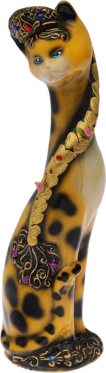 Копилка Керамика ручной работы Аленушка в кокошнике, 13 х 16 х 56 см1573601Женщины любят баловать себя покупками для красоты и здоровья. С помощью такой копилки можно незаметно приблизиться к приобретению желаемого. Образ кошки всегда олицетворял привлекательность и символизировал домашнее спокойствие. Поставьте изделие возле предметов роскоши, и оно будет способствовать их преумножению. Обращаем ваше внимание, что копилка является одноразовой.