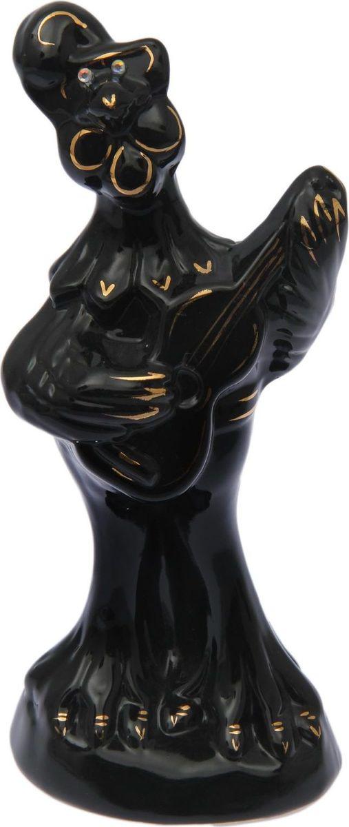 Копилка Керамика ручной работы Петух музыкант, 10 х 11 х 27 см1654807Копилка — универсальный вариант подарка любому человеку, ведь каждый из нас мечтает о какой-то дорогостоящей вещи и откладывает или собирается откладывать деньги на её приобретение. Вместительная копилка станет прекрасным хранителем сбережений и украшением интерьера. Она выглядит так ярко и эффектно, что проходя мимо, обязательно захочется забросить пару монет. Обращаем ваше внимание, что копилка является одноразовой.