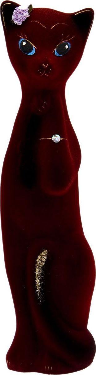 Копилка Керамика ручной работы Алиса, 11 х 12 х 44 см1687299Женщины любят баловать себя покупками для красоты и здоровья. С помощью такой копилки можно незаметно приблизиться к приобретению желаемого. Образ кошки всегда олицетворял привлекательность и символизировал домашнее спокойствие. Поставьте изделие возле предметов роскоши, и оно будет способствовать их преумножению. Обращаем ваше внимание, что копилка является одноразовой.
