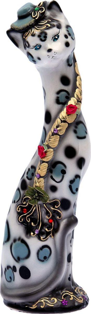 Копилка Керамика ручной работы Кошка Аллочка в шляпе, 13 х 15 х 53 см. 16873511687351Женщины любят баловать себя покупками для красоты и здоровья. С помощью такой копилки можно незаметно приблизиться к приобретению желаемого. Образ кошки всегда олицетворял привлекательность и символизировал домашнее спокойствие. Поставьте изделие возле предметов роскоши, и оно будет способствовать их преумножению. Обращаем ваше внимание, что копилка является одноразовой.