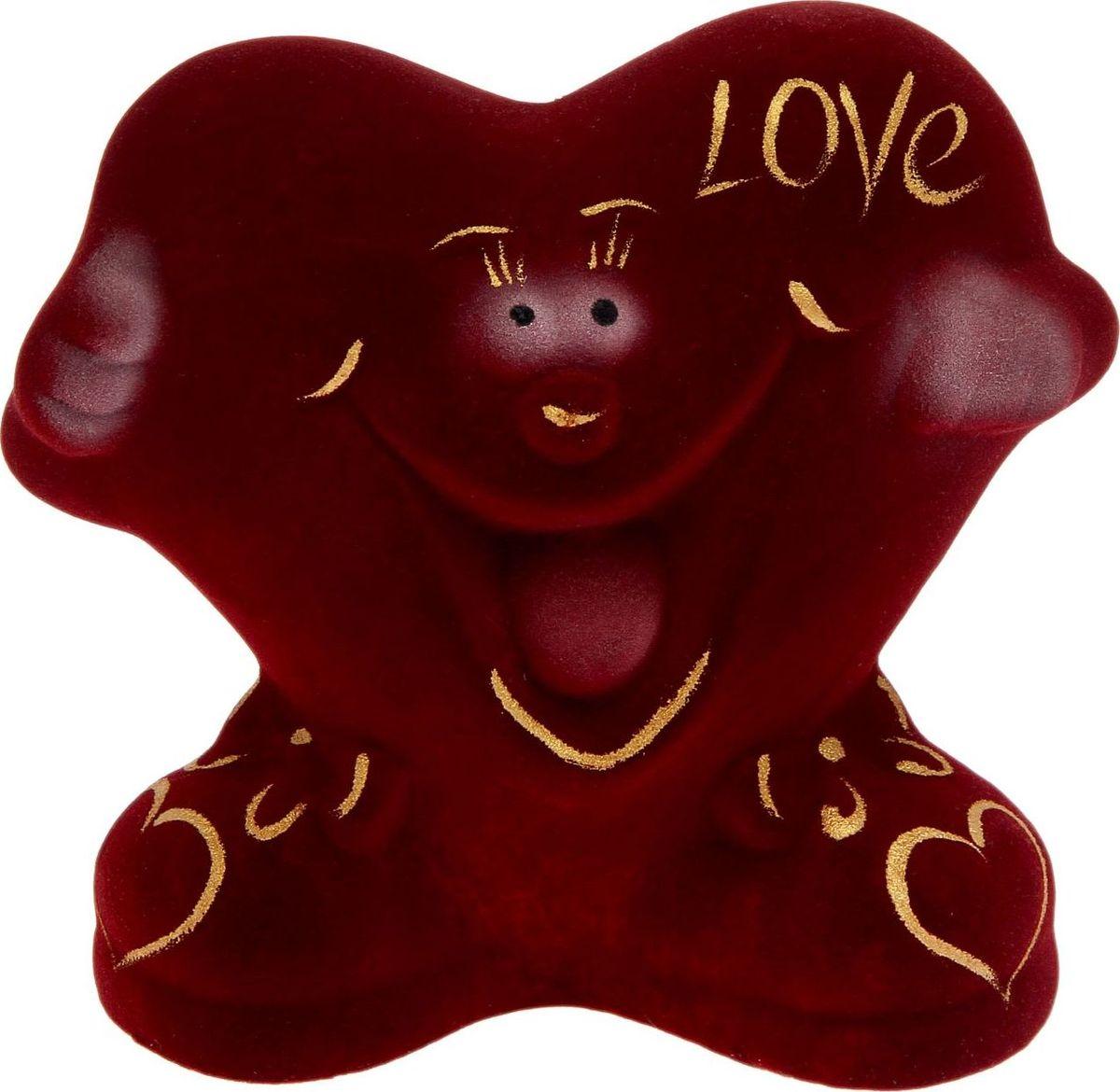 Копилка Керамика ручной работы Сердце, 9 х 16 х 14 см1848126Копилка — универсальный вариант подарка любому человеку, ведь каждый из нас мечтает о какой-то дорогостоящей вещи и откладывает или собирается откладывать деньги на её приобретение. Вместительная копилка станет прекрасным хранителем сбережений и украшением интерьера. Она выглядит так ярко и эффектно, что проходя мимо, обязательно захочется забросить пару монет. Обращаем ваше внимание, что копилка является одноразовой.