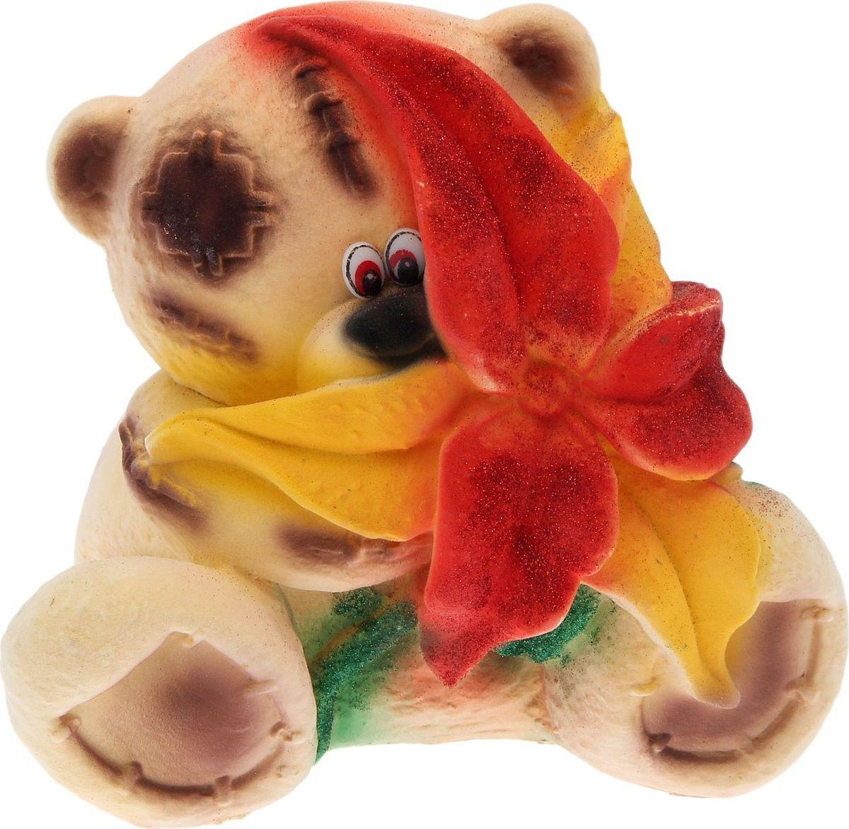 Копилка Premium Gips Тед с цветком, 20 х 22 х 21 см ted baker пальто