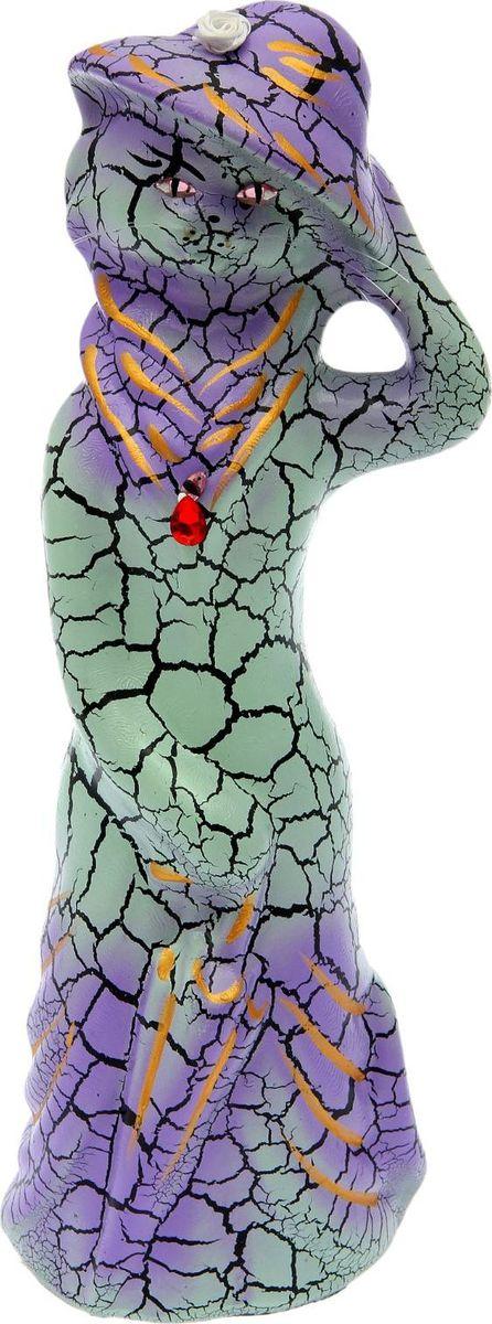 Копилка Керамика ручной работы Барышня, 13 х 13 х 38 см копилка керамика ручной работы барышня и кавалер 21 х 8 х 29 см