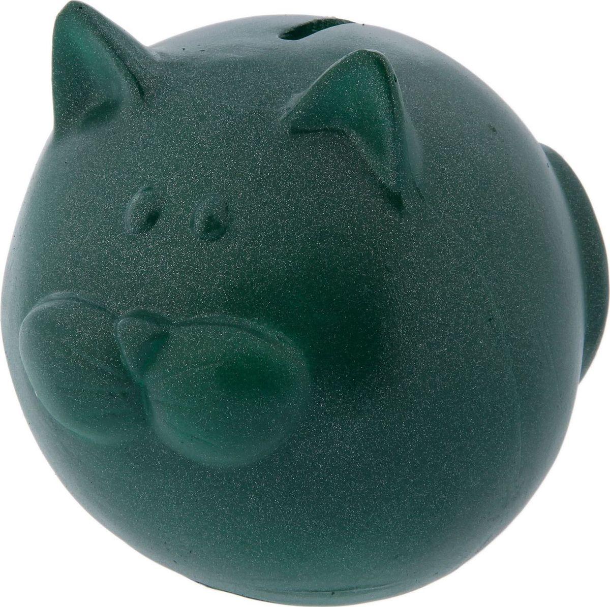 Копилка Кот пузырь, цвет: зеленый, 13,5 х 12 х 13,5 см97833Копилка — универсальный вариант подарка любому человеку, ведь каждый из нас мечтает о какой-то дорогостоящей вещи и откладывает или собирается откладывать деньги на её приобретение. Вместительная копилка станет прекрасным хранителем сбережений и украшением интерьера. Она выглядит так ярко и эффектно, что проходя мимо, обязательно захочется забросить пару монет. Обращаем ваше внимание, что копилка является одноразовой.