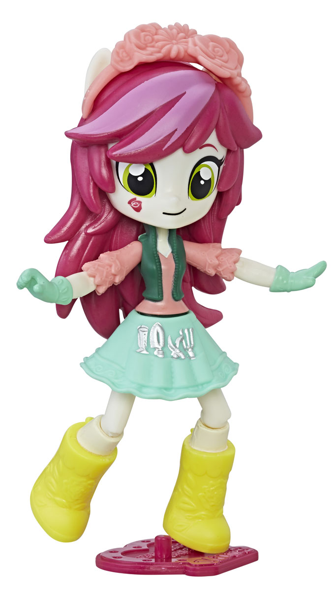 My Little Pony Equestria Girls Мини-кукла Roseluck free shipping corn extruder corn puffed extrusion rice extruder corn extrusion machine food extrusion machine