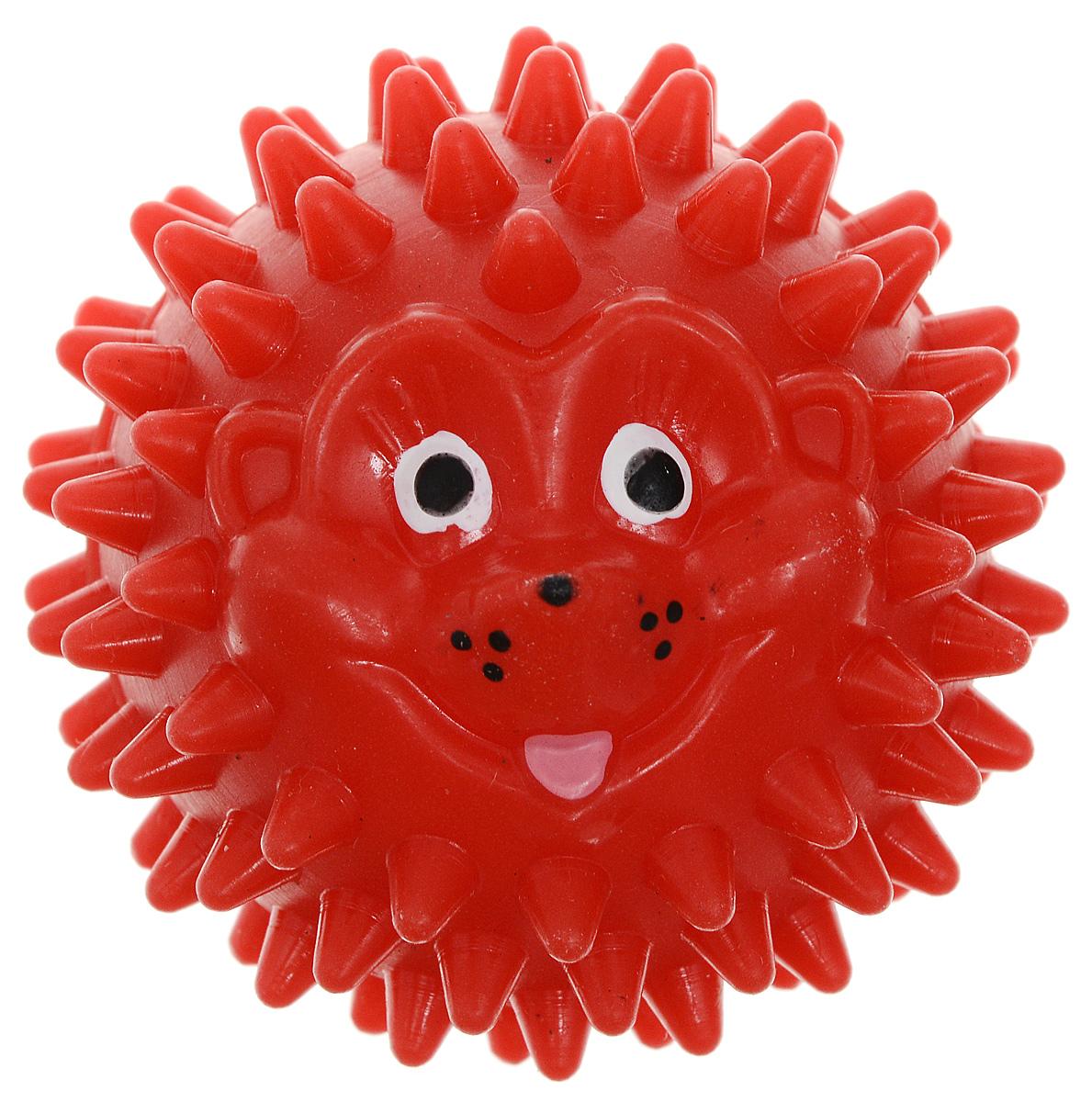Массажер Дельтатерм Шарик-Ежик, цвет: красный, диаметр 50 мм00-00000225_красныйМассажер Дельтатерм Шарик-Ежик, цвет: красный, диаметр 50 мм
