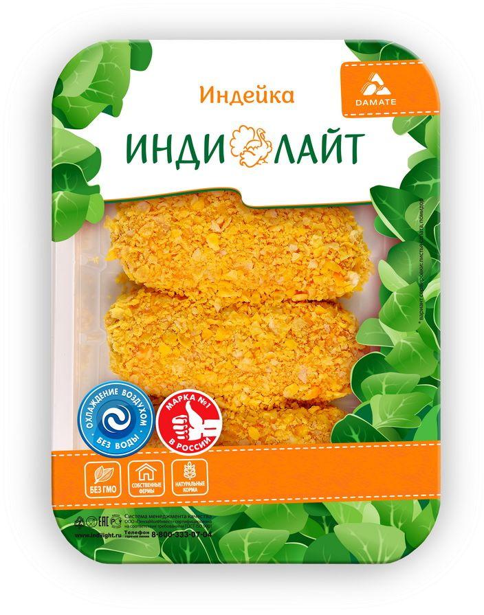 Индилайт Шницель Аппетитный из индейки, охлажденный, 450г460Требует тепловой кулинарной обработки. Постное, диетическое, большое содержание витаминов и минералов. Высокое содержание белка. Гипоаллергенное.