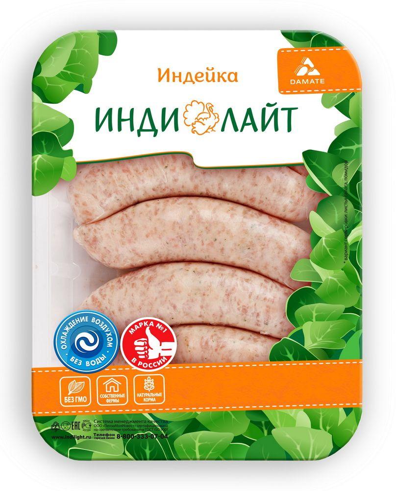 Индилайт Купаты По-домашнему из индейки, охлажденные, 500 г755Мясо индейки - постное, диетическое, содержит большое количество витаминов, минералов и белка. В этом диетическом мясе содержится полный набор аминокислот, витамины, А и D, железо, кальций, натрий. Купаты это рубленое мясо индейки со специями, заправленное в оболочку и сформированное в виде колбасок. Идеально подойдет для семейного ужина.