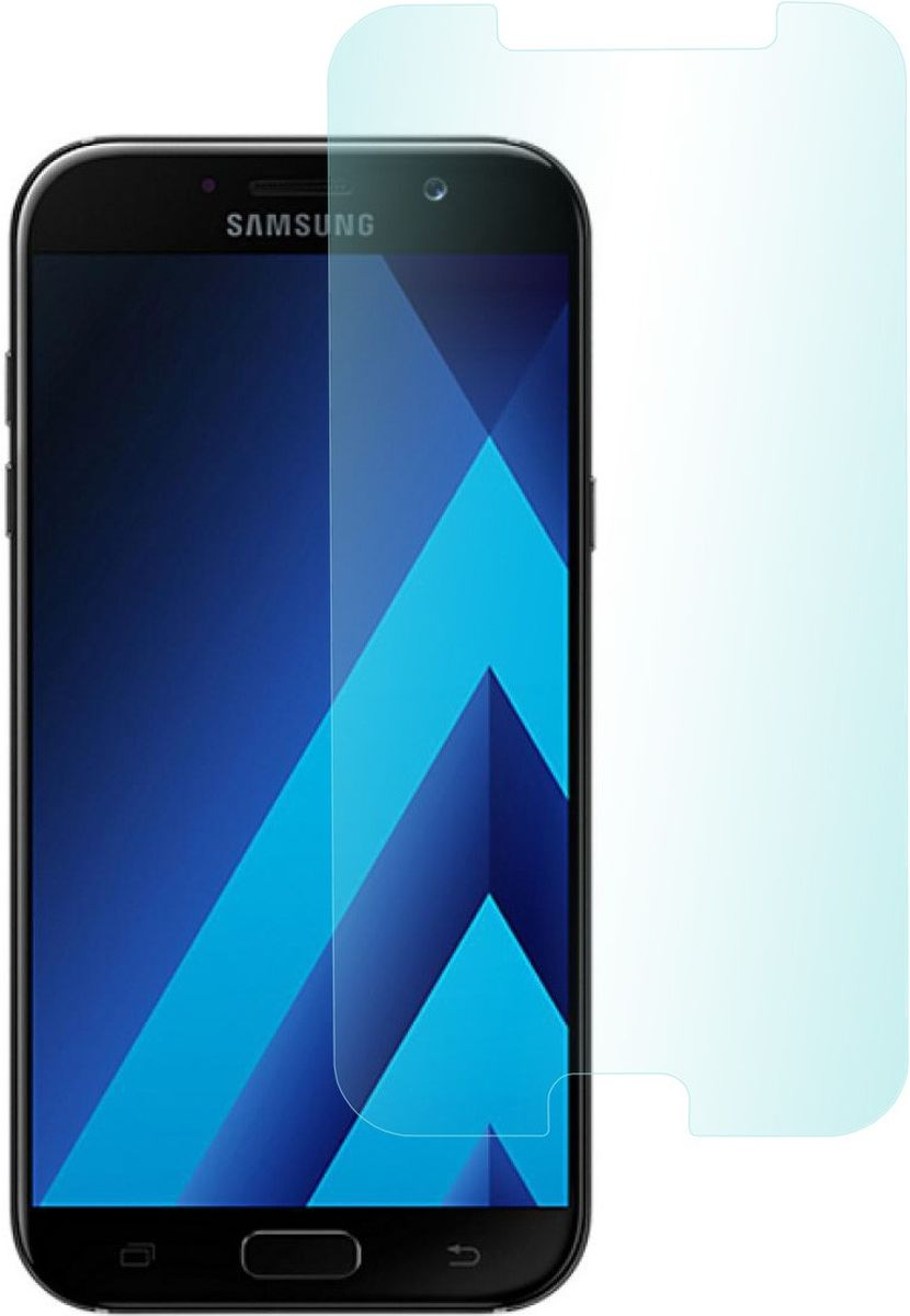 Skinbox защитное стекло для Samsung Galaxy A7 (2017), глянцевое2000000149110Высококачественное закаленное стекло. Прочность 9Н. Антибликовое покрытие. Толщина 0,3 мм. Закругление краев 2,5D, мягкое и гладкое на ощупь. Коэффициент пропускания света 99 %. Мягкое касание. Олефобное покрытие.