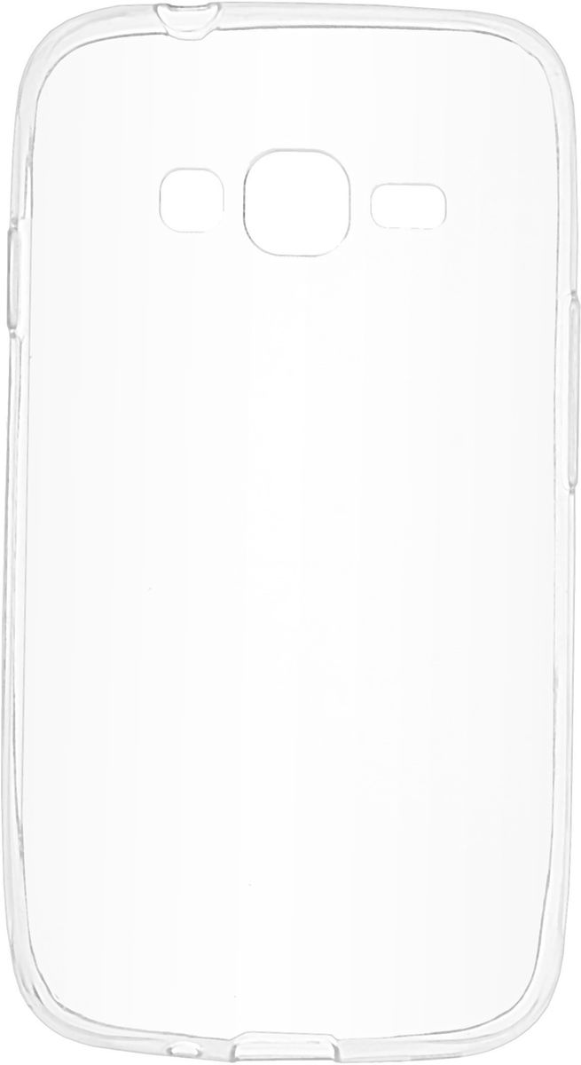 все цены на  Skinbox 4People Slim Silicone чехол-накладка для Samsung Galaxy J106 J1 mini Prime, Transparent  онлайн