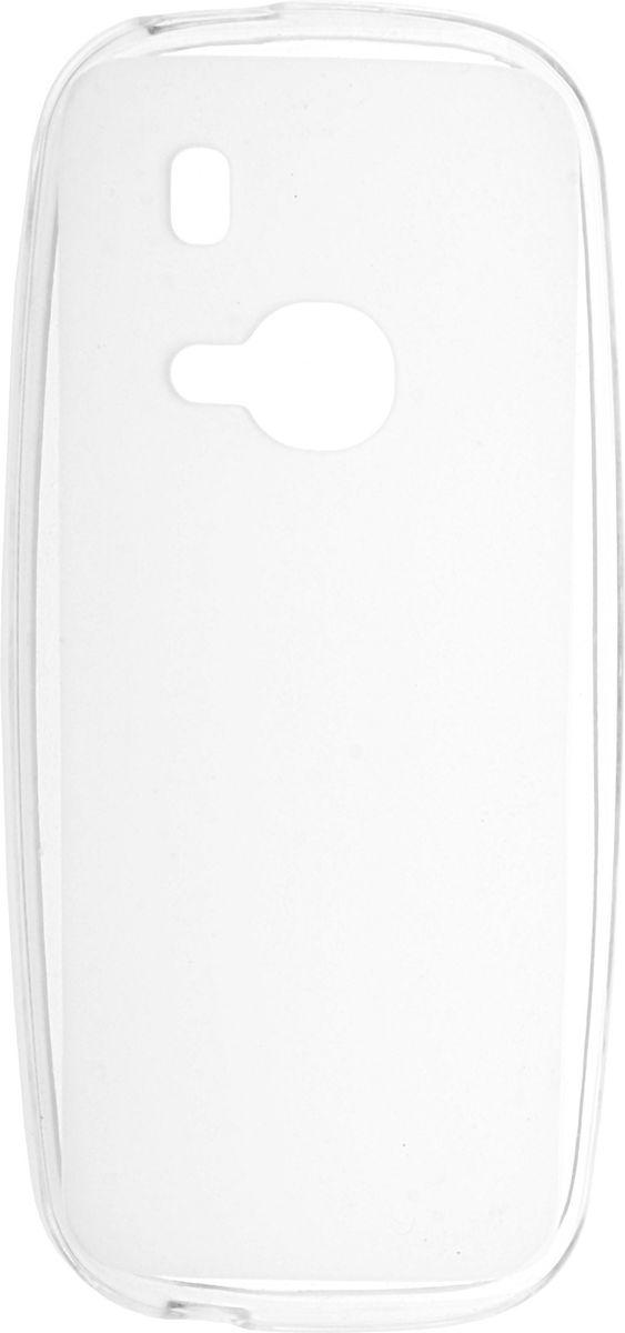 Skinbox Silicone Case чехол-накладка для Nokia 3310 (2017), Transparent2000000137490Чехол-накладка Skinbox Silicone Case для Nokia 3310 (2017) бережно и надежно защитит ваш смартфон от пыли, грязи, царапин и других повреждений. Выполнен из высококачественных материалов, плотно прилегает и не скользит в руках. Чехол-накладка оставляет свободным доступ ко всем разъемам и кнопкам устройства.