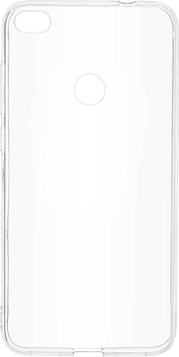 Skinbox Slim Silicone чехол-накладка для Huawei Honor 8 Lite, Transparent2000000147994Чехол Skinbox Slim Silicone надежно защищает ваш смартфон от внешних воздействий, грязи, пыли, брызг. Он также поможет при ударах и падениях, не позволив образоваться на корпусе царапинам и потертостям. Чехол обеспечивает свободный доступ ко всем функциональным кнопкам смартфона и камере.