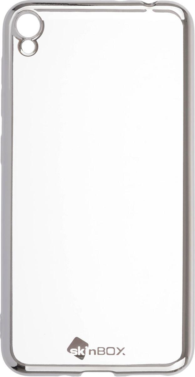 Skinbox 4People Silicone Chrome Border чехол-накладка для Asus Zenfone Live (ZB501KL), Silver2000000147963Чехол-накладка Skinbox 4People Silicone Chrome Border для ASUS Zenfone Live (ZB501KL) обеспечивает надежную защиту корпуса смартфона от механических повреждений и надолго сохраняет его привлекательный внешний вид. Накладка выполнена из высококачественного силикона, плотно прилегает и не скользит в руках. Чехол также обеспечивает свободный доступ ко всем разъемам и клавишам устройства.